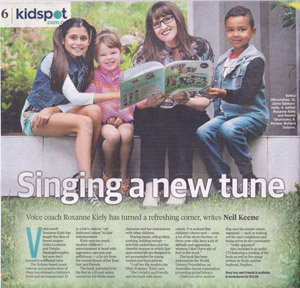 Kidspot article about Roxanne Kiely and Busy Izzy