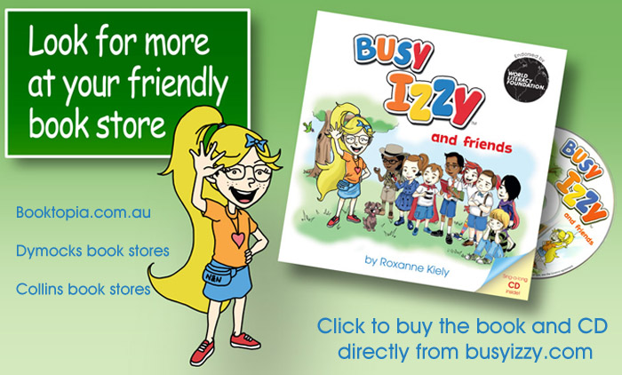 Buy Busy Izzy Book 1 Now