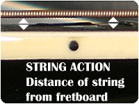 guitar string action